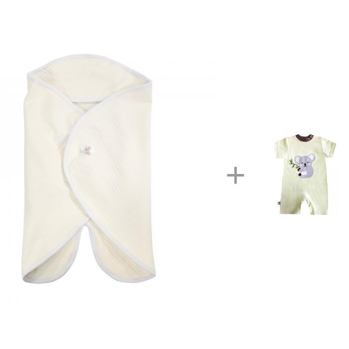 Купить Боди, песочники, комбинезоны, КотМарКот Песочник Коала 5798 с конвертом-одеялом Dolce Bambino Dolce Blanket