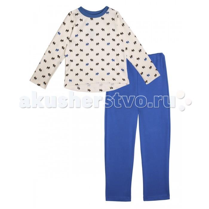 Пижамы и ночные сорочки КотМарКот Пижама для девочки Собачки 16116 пижамы и ночные сорочки nannette пижама для девочки 26 1781