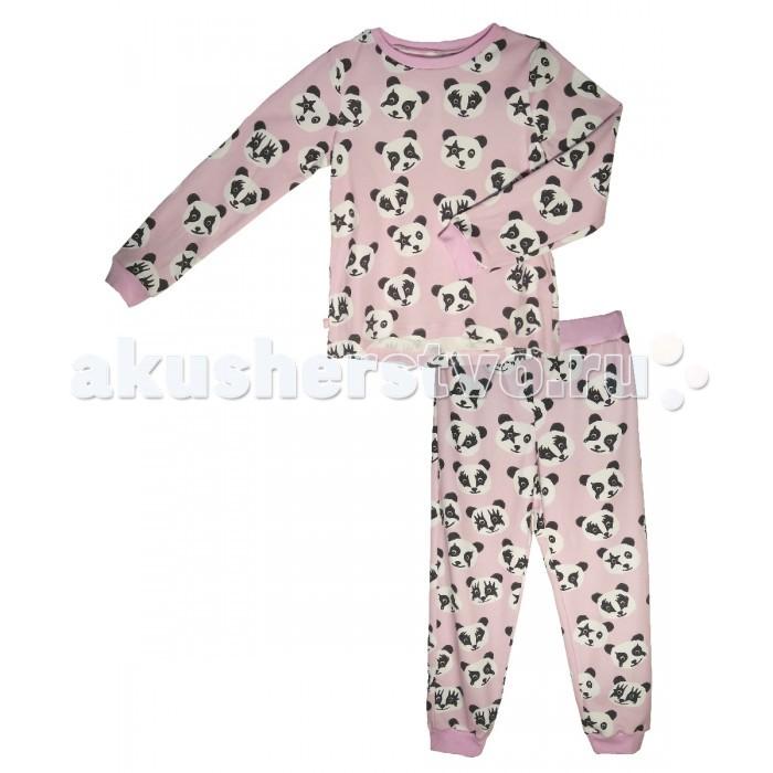 Пижамы и ночные сорочки КотМарКот Пижама для девочки (свитшот и штанишки) Панды