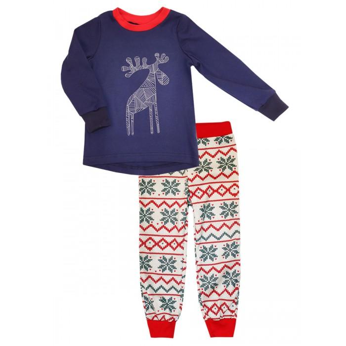 Купить Домашняя одежда, КотМарКот Пижама для мальчика (лонгслив, брюки)