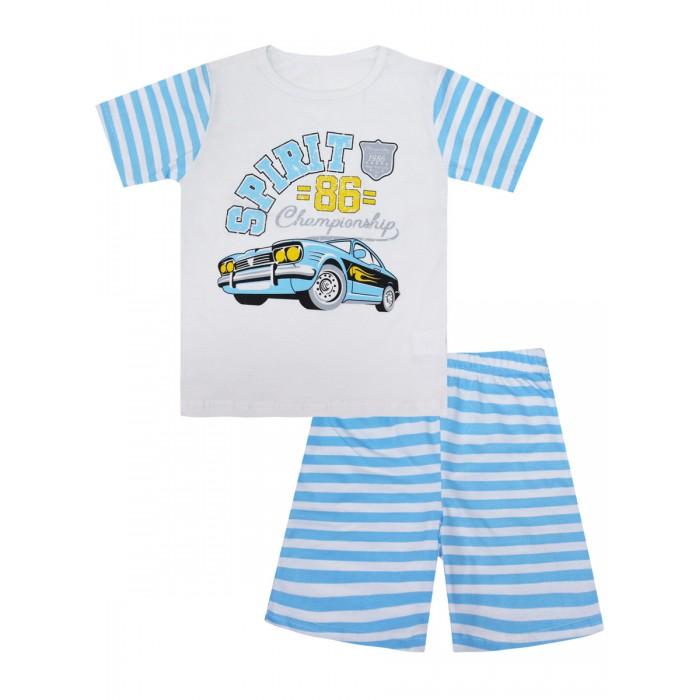 Купить Домашняя одежда, КотМарКот Пижама для мальчика Машинки 30087