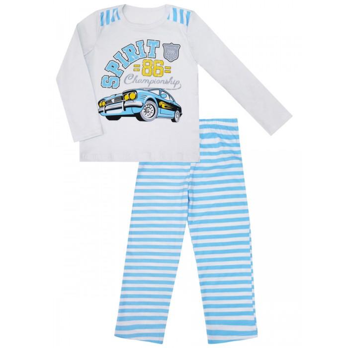Купить Домашняя одежда, КотМарКот Пижама для мальчика Машинки 30089