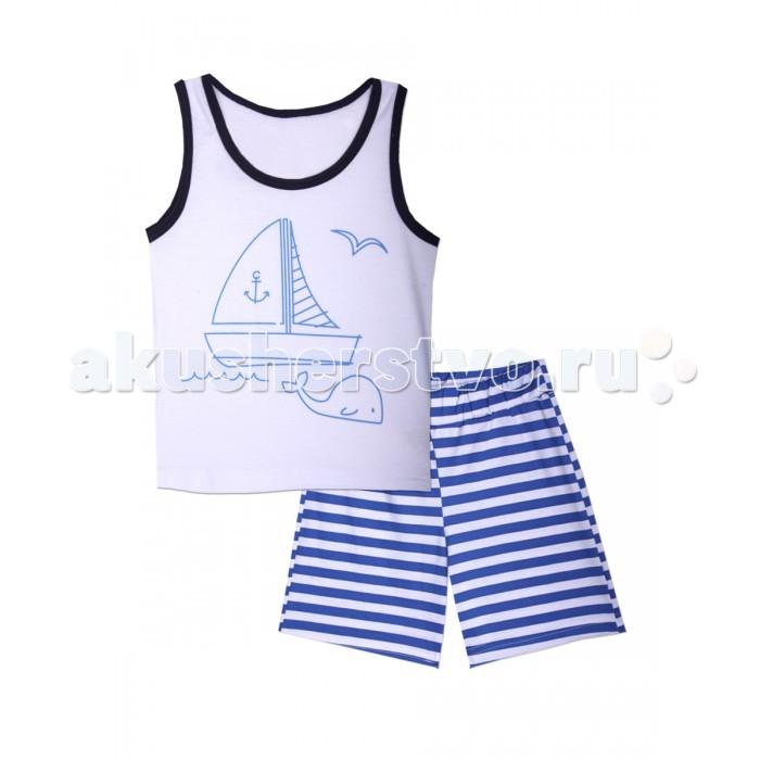 Пижамы и ночные сорочки КотМарКот Пижама для мальчика Морская ночные сорочки и рубашки