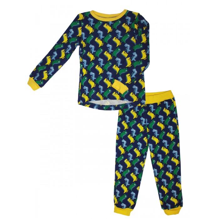 Пижамы и ночные сорочки КотМарКот Пижама для мальчика (свитшот и штанишки) Динозаврик ночные сорочки и рубашки