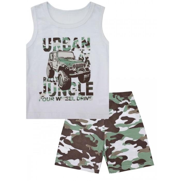 Купить Домашняя одежда, КотМарКот Пижама для мальчика Зеленые джунгли 30103