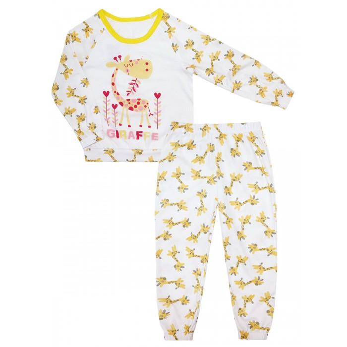 Домашняя одежда КотМарКот Пижама (свитшот и брюки) Солнечный жираф