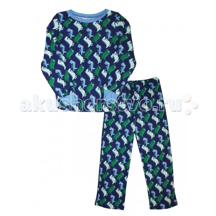 Пижамы и ночные сорочки КотМарКот Пижама (свитшот и штанишки) Динозаврик брюки джинсы и штанишки котмаркот штанишки розы