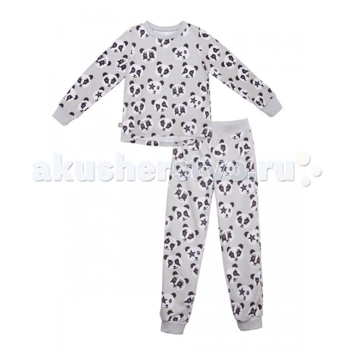 цены Пижамы и ночные сорочки КотМарКот Пижама для мальчика (свитшот и штанишки) Панды