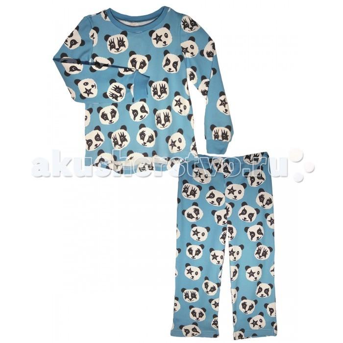 Пижамы и ночные сорочки КотМарКот Пижама (свитшот и штанишки) Панды ночные сорочки и рубашки