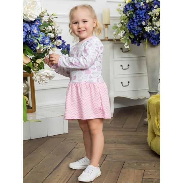 Платья и сарафаны КотМарКот Платье для девочки Воздушный зоопарк