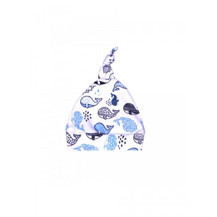 Шапочки и чепчики КотМарКот Шапочка (Чепчик) Киты шапочки и чепчики котмаркот чепчик little elephant 8271