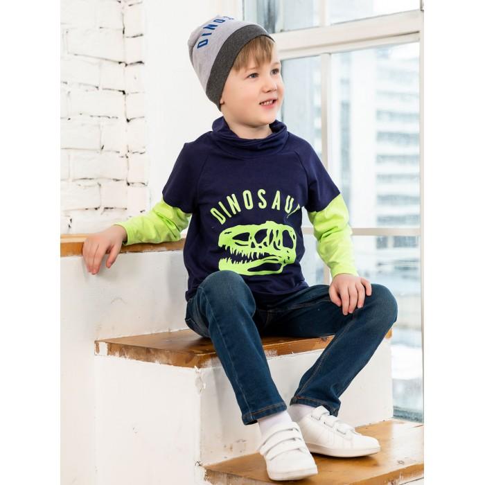 Шапки, варежки и шарфы КотМарКот Шапочка для мальчика Dino