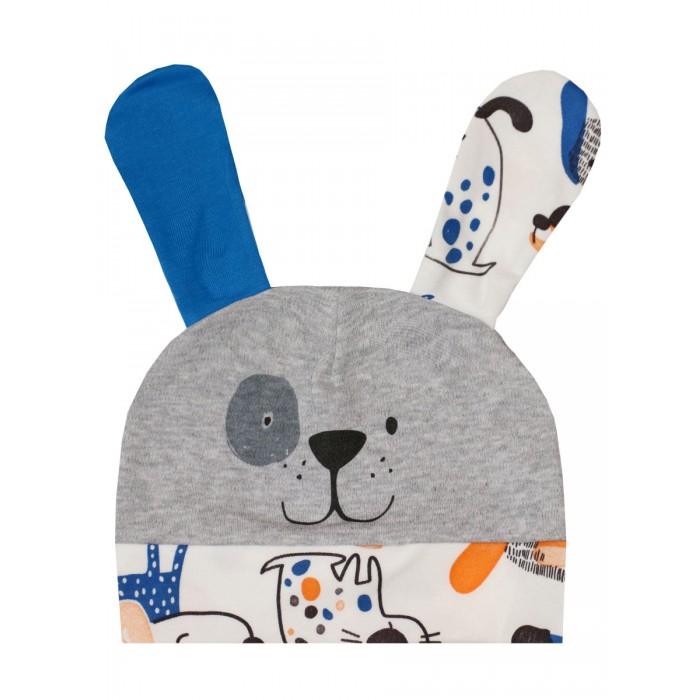 Фото - Шапки, варежки и шарфы КотМарКот Шапочка Funny Puppies 1130523 шапки варежки и шарфы котмаркот шапочка винтажная роза