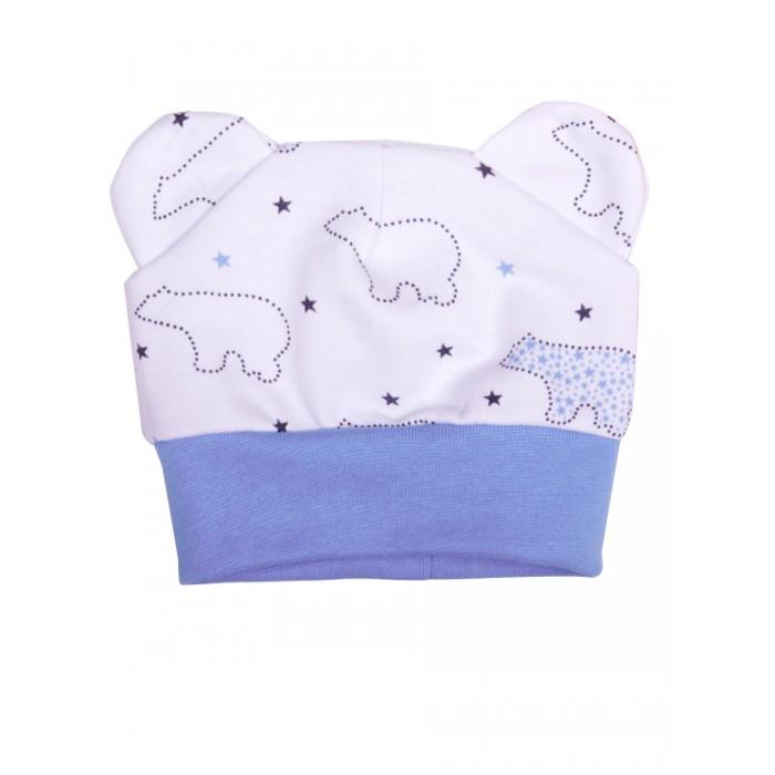 Шапочки и чепчики КотМарКот Шапочка с ушками Зимний мишка брюки котмаркот штанишки мишка