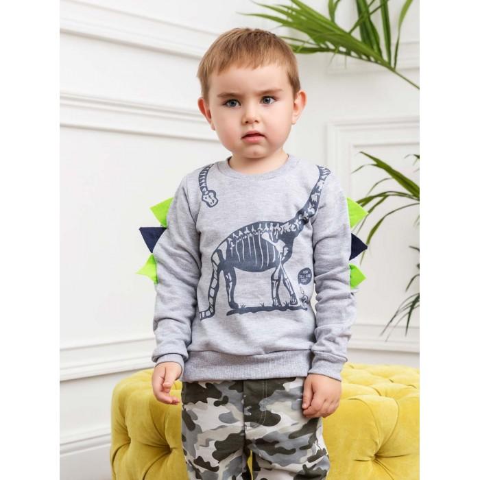 КотМарКот Свитшот для мальчика Dino