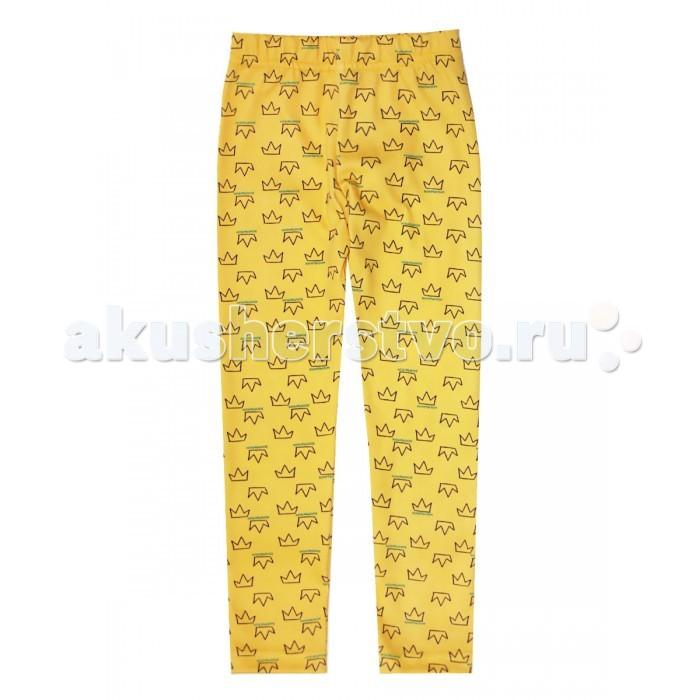 Брюки, джинсы и штанишки КотМарКот Леггинсы Корона брюки джинсы и штанишки котмаркот штанишки розы