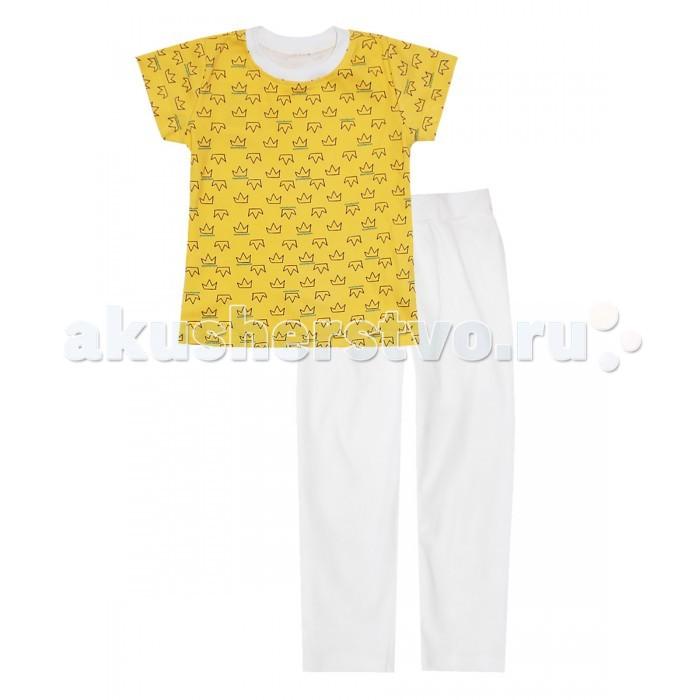 Пижамы и ночные сорочки КотМарКот Пижама (футболка и леггинсы) Корона ночные сорочки и рубашки