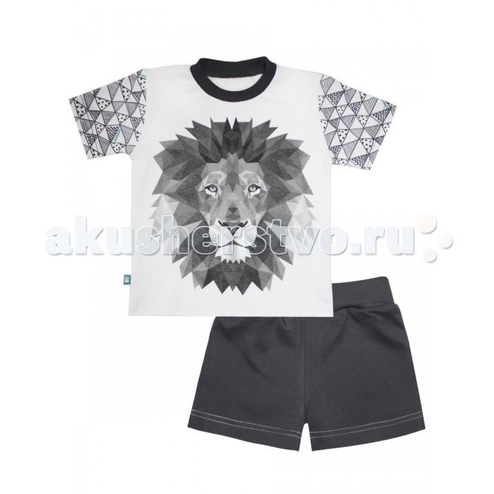 КотМарКот Пижама (футболка и шорты) Геометрия 16373
