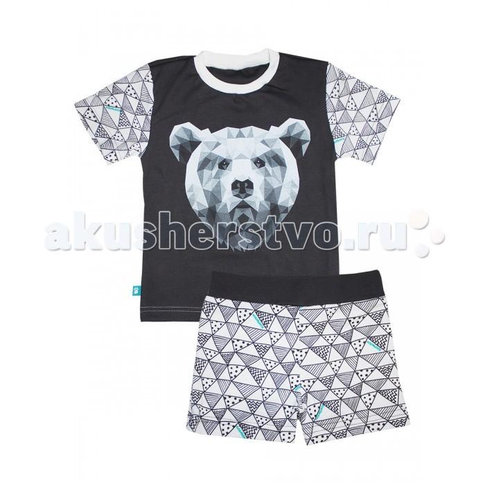 Пижамы и ночные сорочки КотМарКот Пижама (футболка и шорты) Геометрия 16473 ночные сорочки и рубашки