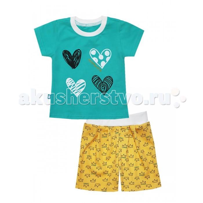 Пижамы и ночные сорочки КотМарКот Пижама (футболка и шорты) Корона ночные сорочки и рубашки