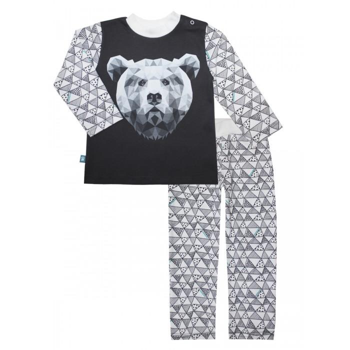 Пижамы и ночные сорочки КотМарКот Пижама (свитшот и штанишки) Геометрия 16673 ночные сорочки и рубашки