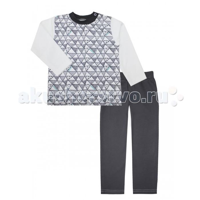 Пижамы и ночные сорочки КотМарКот Пижама (свитшот и штанишки) Геометрия 16873 ночные сорочки и рубашки