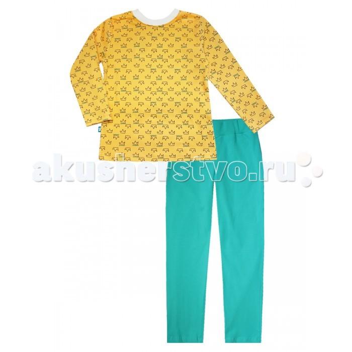 Пижамы и ночные сорочки КотМарКот Пижама (свитшот и штанишки) Корона 16774 ночные сорочки и рубашки
