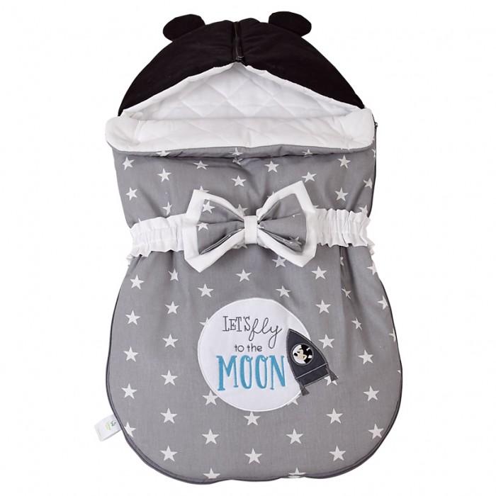 Конверты для новорожденных Polini Конверт демисезонный Disney baby Микки Маус