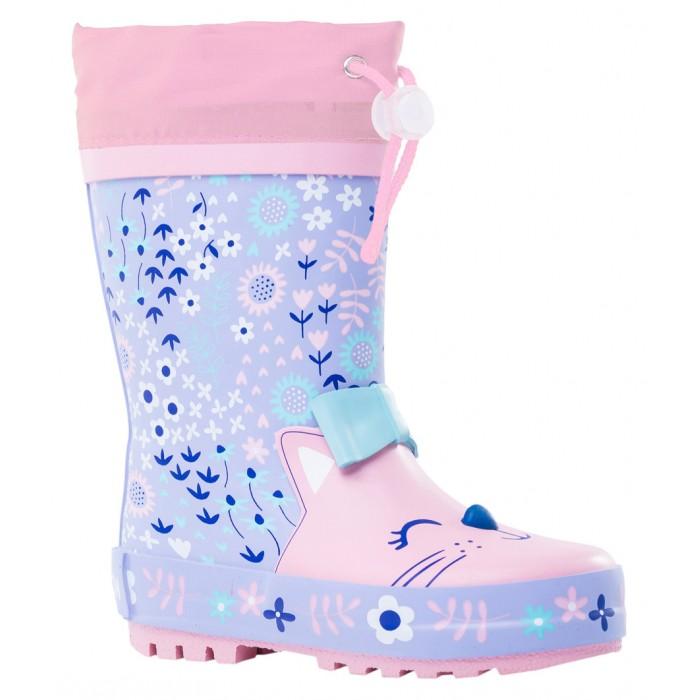 Купить Резиновая обувь, Котофей Резиновые сапоги для девочки 366211-11