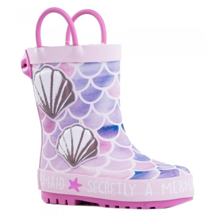 Купить Резиновая обувь, Котофей Резиновые сапоги для девочки 366213-11