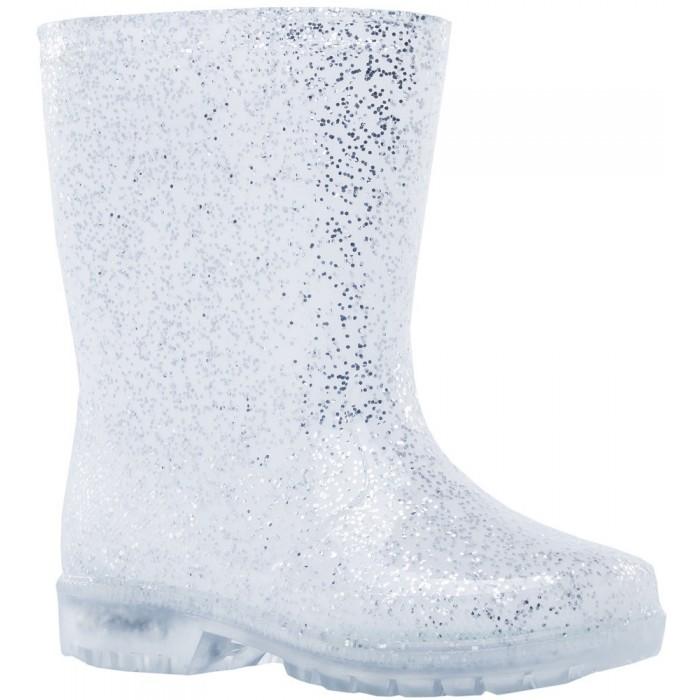 Купить Резиновая обувь, Котофей Резиновые сапоги светящиеся для девочки 466006-11