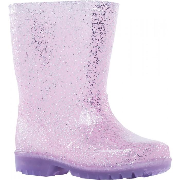 Купить Резиновая обувь, Котофей Резиновые сапоги светящиеся для девочки 566173-11