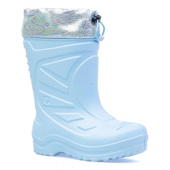 Купить Резиновая обувь, Котофей Сапоги резиновые для девочки 165056-11