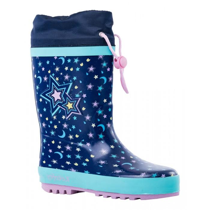 Резиновая обувь, Котофей Сапоги резиновые для девочки 366177  - купить со скидкой