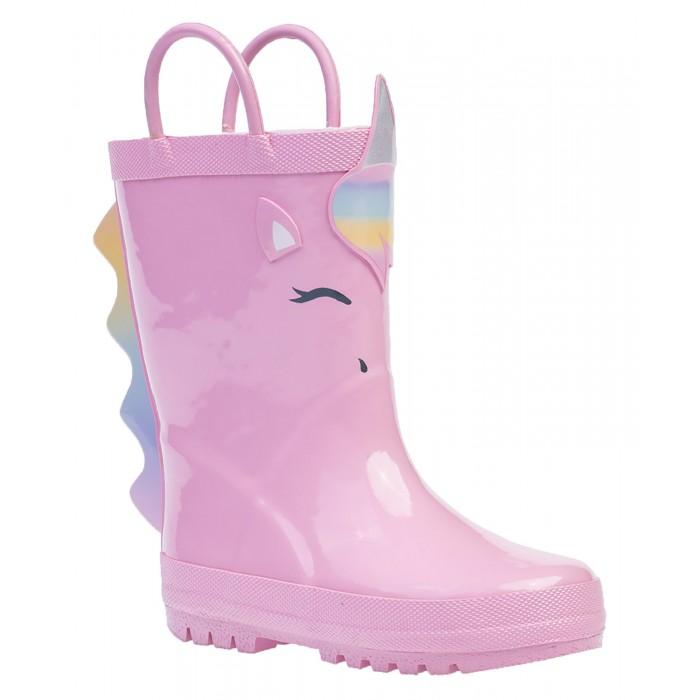 Купить Резиновая обувь, Котофей Сапоги резиновые для девочки 366216-11