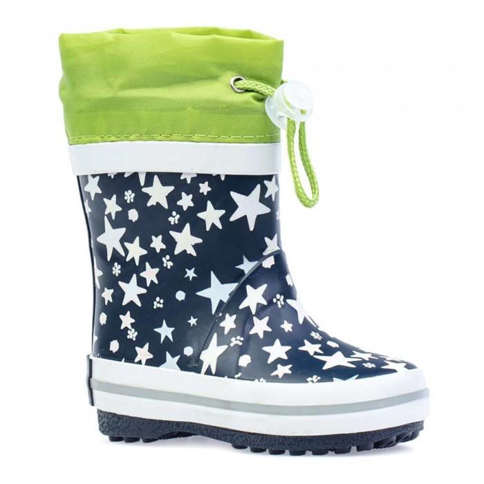 Фото - Резиновая обувь Котофей Сапоги резиновые со звездами резиновые сапоги котофей размер 31 синий