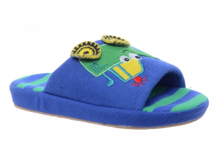Купить Домашняя обувь, Котофей Тапочки домашние для мальчика 331170-11