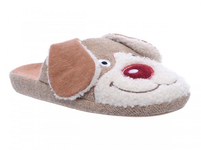 Купить Домашняя обувь, Котофей Тапочки домашние для мальчика 331173-11