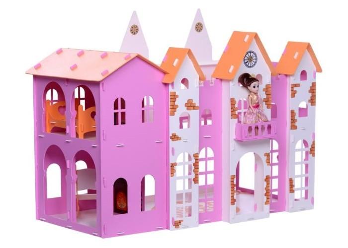 Картинка для Кукольные домики и мебель Krasatoys Домик для кукол Замок Джульетты