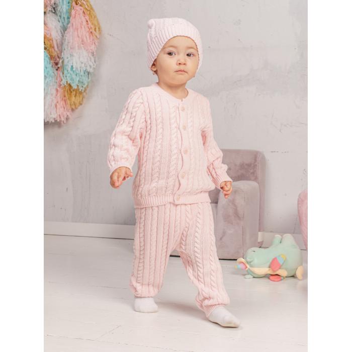 Купить со скидкой Красная лента Комплект вязанный (кофточка, штанишки и шапочка) 73-9006