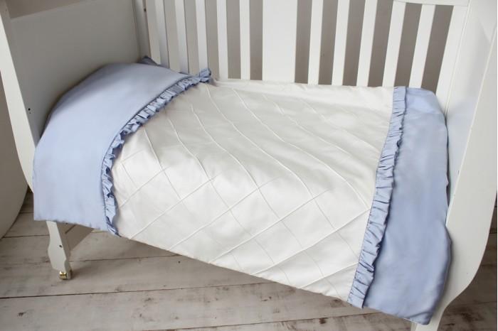 Купить Постельное белье 1.5-спальное, Постельное белье Krisfi 1.5 спальное Голубые сны (3 предмета)