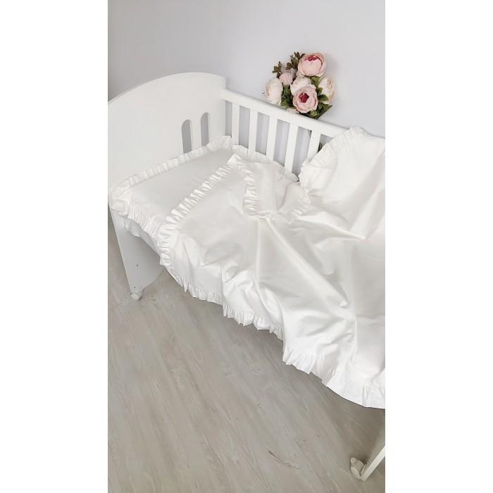 Купить Постельное белье 1.5-спальное, Постельное белье Krisfi 1.5 спальное Pure (3 предмета)