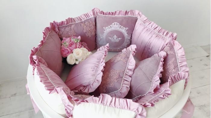 Комплект в кроватку Krisfi Изящность (17 предметов)