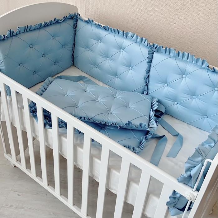 Купить Бортики в кроватку, Бортик в кроватку Krisfi Облако 120х60 см
