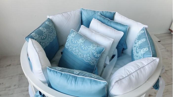 Бортик в кроватку Krisfi Paradise 12 подушек