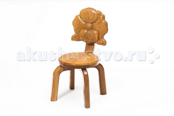 Детские столы и стулья Polli Tolli Детский стульчик Буковка Мак