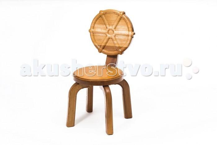 Детские столы и стулья Polli Tolli Детский стульчик Буковка Штурвал