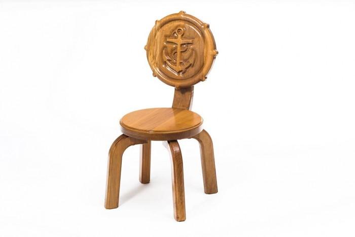 Детские столы и стулья Polli Tolli Детский стульчик Буковка Якорь