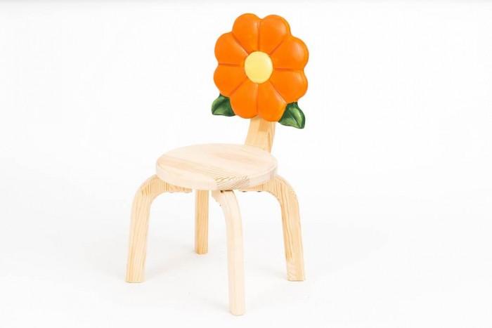 Детские столы и стулья Polli Tolli Детский стульчик Цветочек Маргаритка