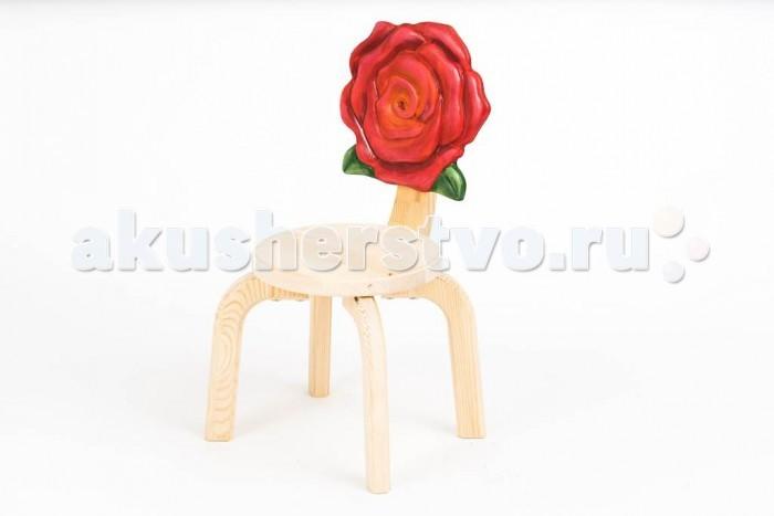 Детские столы и стулья Polli Tolli Детский стульчик Цветочек Розочка